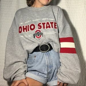 American Vintage Sweaters - SALE💛 Vintage Ohio State Crew Neck Sweatshirt